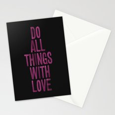 PINK Quote Stationery Cards