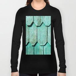 Green Shingle Long Sleeve T-shirt