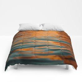 Lake Powell Fire Water Comforters