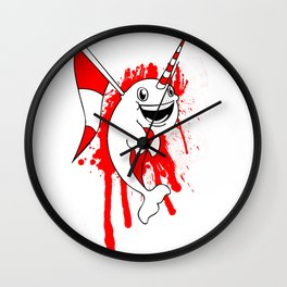 Gnar'What? Wall Clock
