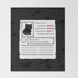 RPG Video Game Cat Throw Blanket