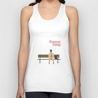 forrest gump Tank Tops featuring FORREST GIMP by Ian O'Hanlon
