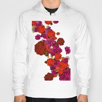 roses Hoodies featuring roses by Marcella Wylie