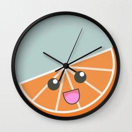 Happy froot Wall Clock