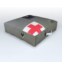 red cross Outdoor Floor Cushion