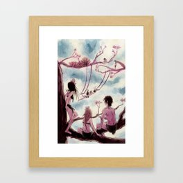 Nymphs Framed Art Print