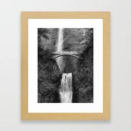 Multnomah Falls - Oregon Framed Art Print