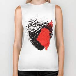 Bloody Strawberry Biker Tank