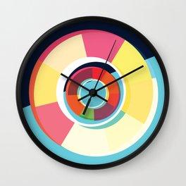 Lifesaver Circle Wall Clock