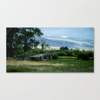 montana Canvas Prints featuring Montana by Photos By Cat