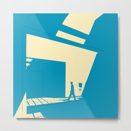 Daylight diagonal Metal Print