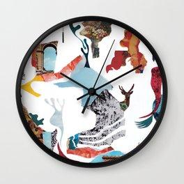 Delirium Analog Collage Wall Clock