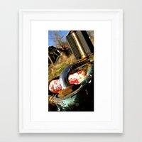 yowamushi pedal Framed Art Prints featuring Rustic Pedal by Chewienine