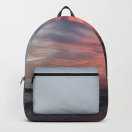 Fiery Sunset Backpack