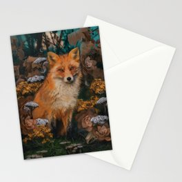 The Fox In The Forest Stationery Cards