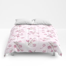 Almond's Blossoms Comforters