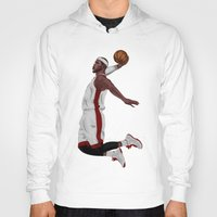 lebron Hoodies featuring Lebron James by siddick49