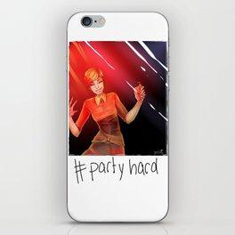 #partyhard iPhone Skin