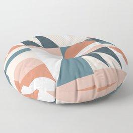 Cirque 06 Abstract Geometric Floor Pillow