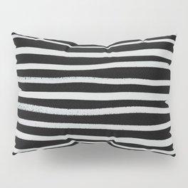 brushstroke stripes 2 Pillow Sham