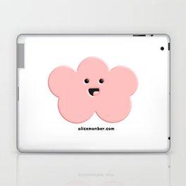 Cute Pink Cloud Laptop & iPad Skin