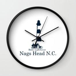 Nags Head - North Carolina. Wall Clock