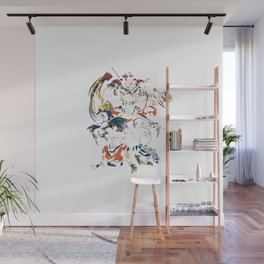 invincible anime team Wall Mural
