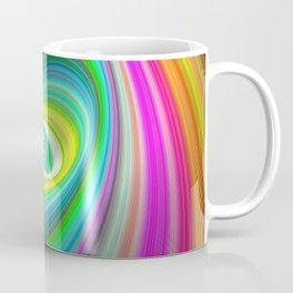 Lollipop Candy Elliptical Fractal Art Design Coffee Mug