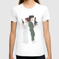 ripley T-shirts featuring Leia and Ripley by Ashley Anderson