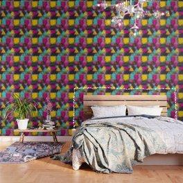 Multi-colored geometric shapes Wallpaper