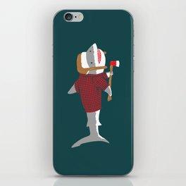 Shark LumberJack iPhone Skin