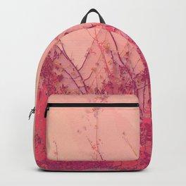 Lost in Pink (Carmine Pink Botanic Garden) Backpack