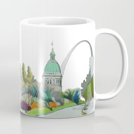 St. Louis cityscape 1 Coffee Mug