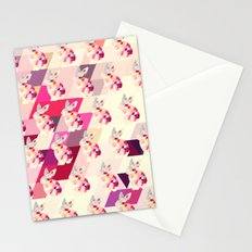 Bunny Pattern Stationery Cards
