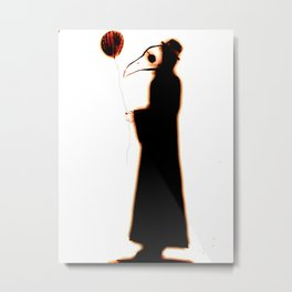 the balloon  Metal Print