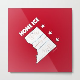 DC Home Ice Metal Print