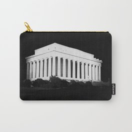 Lincoln Memorial at Night - Washington DC - 1922 Carry-All Pouch