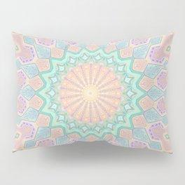 Crystal Magic - Mandala Art Pillow Sham