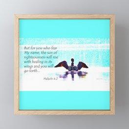 loon Framed Mini Art Print