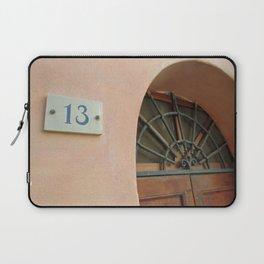 13 - Wrought Iron Door Laptop Sleeve