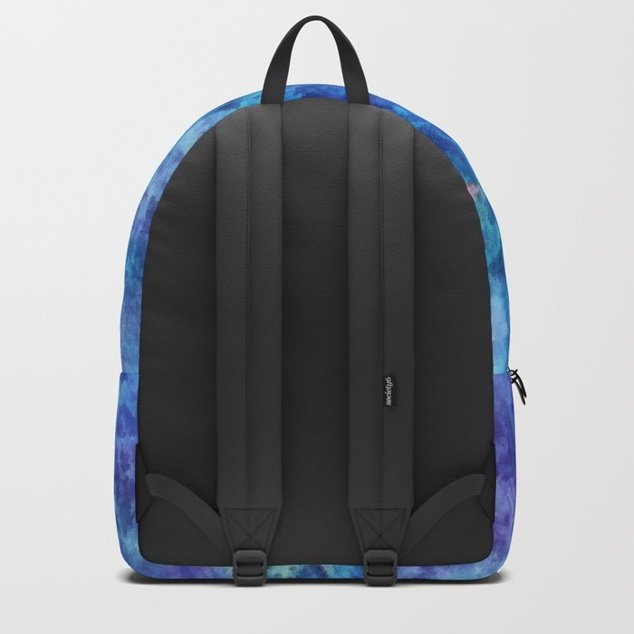 Clouds over pine forest Backpack