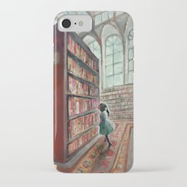 Exploring the Library iPhone Case