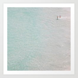 beach - summer of love II Art Print