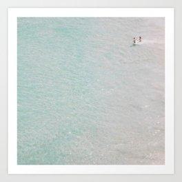 beach - summer of love II Art Print