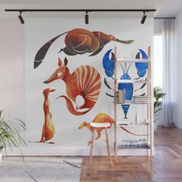Australian animals 2 Wall Mural