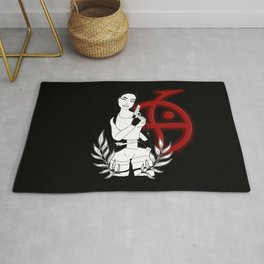 Lara Croft - Tomb Raider II - red version Rug