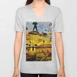 Albert Richards - The Drop - Digital Remastered Edition Unisex V-Neck