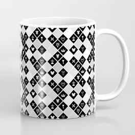 Kingdom Hearts III - Pattern - White Coffee Mug