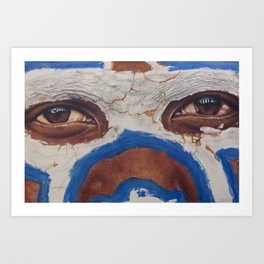 Tribal View Art Print