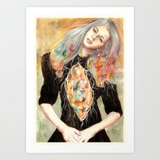 Beauty is a Million Colors Art Print
